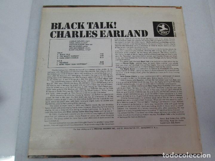 Discos de vinilo: BLACK TALK! CHARLES EARLAND. DISCO VINILO. PRESTIGE RECORDS,1970. VER FOTOGRAFIAS ADJUNTAS. - Foto 6 - 81040888