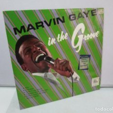 Discos de vinilo: MARVIN GAYE. IN THE GROOVE. DISCO DE VINILO. E.M.I RECORDS 1968. VER FOTOGRAFIAS ADJUNTAS. Lote 81041988