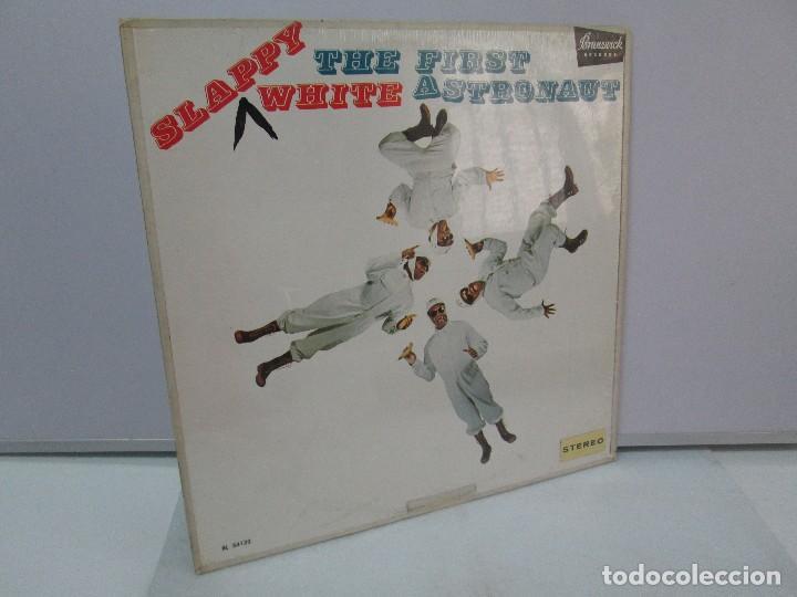 SLAPPY WHITE. THE FIRST ASTRONAUT. DISCO VINILO. BRUNSWICK RECORDS. VER FOTOGRAFIAS ADJUNTAS (Música - Discos - Singles Vinilo - Funk, Soul y Black Music)