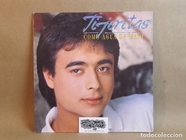 TIJERITAS-COMO AGUA DE MAYO- LP- SPAIN 1987-VG+/VG+ (Música - Discos - LP Vinilo - Flamenco, Canción española y Cuplé)