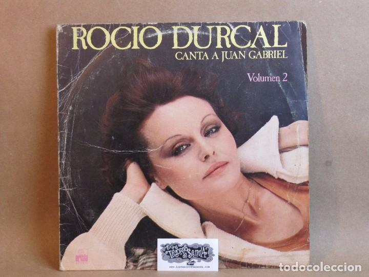 Discos de vinilo: ROCIO DURCAL-CANTA A JUAN GABRIEL VOLUMEN 2- LP- SPAIN 1978-NORMAL/GOOD - Foto 1 - 81044688