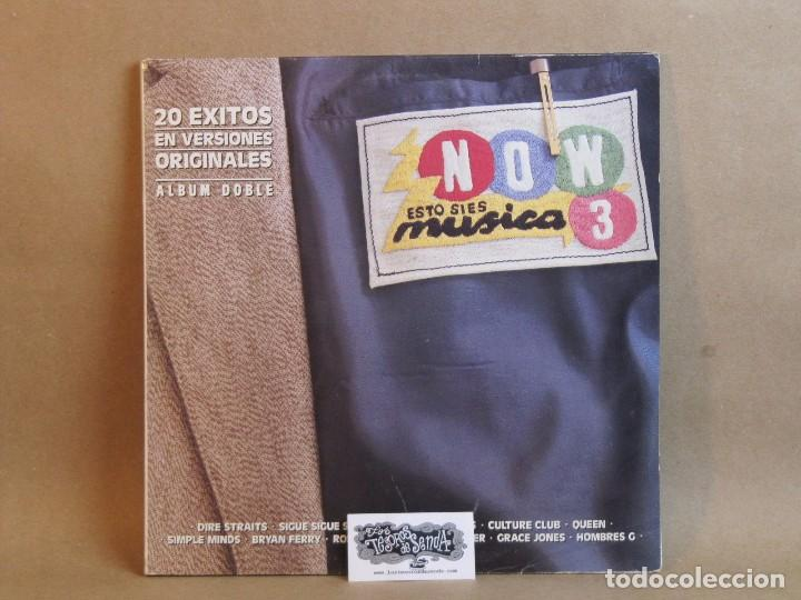 Discos de vinilo: NOW- ESTO SI ES MUSICA 3-2LP- SPAIN 1986-NM/NM - Foto 1 - 81045312