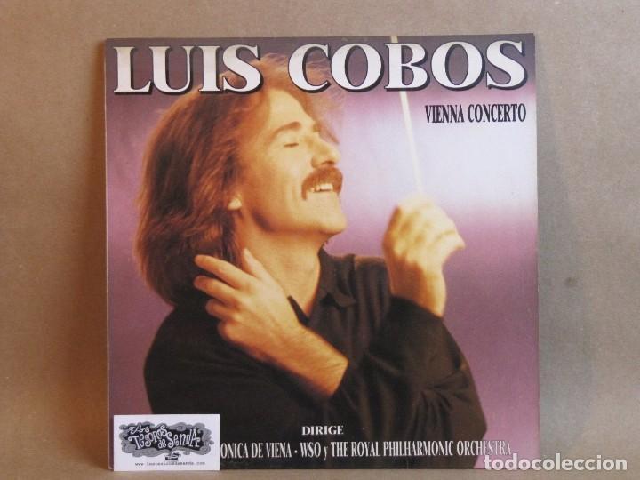LUIS COBOS-VIENNA CONCERTO-LP- SPAIN- 1988-NM/NM (Música - Discos - LP Vinilo - Clásica, Ópera, Zarzuela y Marchas)