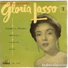 Discos de vinilo: GLORIA LASSO ?– GLORIA LASSO 1 - EXTRAÑOS EN EL PARAISO - EP SPAIN 1958. Lote 81047076
