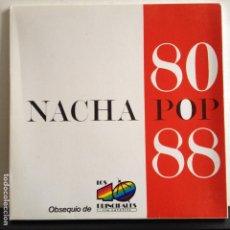 Discos de vinilo: NACHA POP - CHICA DE AYER / NUEVO PLAN - NUEVO EDICION ESPAÑOLA PROMO. Lote 81065112