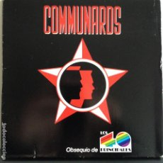 Discos de vinilo: THE COMMUNARDS - T.M.T.-T.B.M.G. / DON´T LEAVE ME THIS WAY - NUEVO EDICION ESPAÑOLA PROMO 40 PRINCIP. Lote 81092020