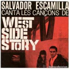 Discos de vinilo: SALVADOR ESCAMILLA - BROADWAY A BARCELONA - EP 1965. Lote 81096276