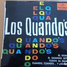 Discos de vinilo: LOS QUANDOS EL QUANDO GITANO EP COLUMBIA. Lote 81107600
