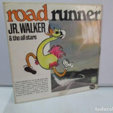 Discos de vinilo: ROAD RUNNER. JR. WALKER & THE ALL STARS. DISCO DE VINILO. SOUL. 1996. VER FOTOGRAFIAS ADJUNTAS. Lote 81108072