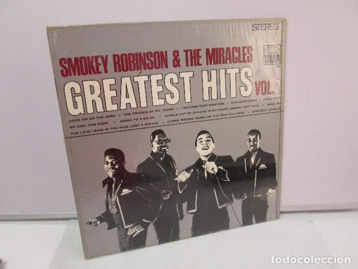 SMOKEY ROBINSON & THE MIRACLES. GREATEST HITS VOL 2. DISCO DE VINILO. TAMLA 1967. VER FOTOGRAFIAS (Música - Discos - Singles Vinilo - Funk, Soul y Black Music)