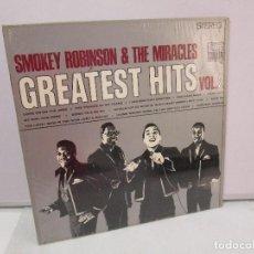 Discos de vinilo: SMOKEY ROBINSON & THE MIRACLES. GREATEST HITS VOL 2. DISCO DE VINILO. TAMLA 1967. VER FOTOGRAFIAS. Lote 81109972