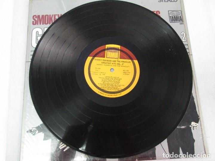 Discos de vinilo: SMOKEY ROBINSON & THE MIRACLES. GREATEST HITS VOL 2. DISCO DE VINILO. TAMLA 1967. VER FOTOGRAFIAS - Foto 3 - 81109972