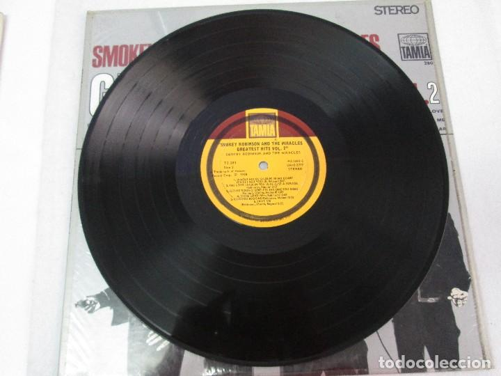 Discos de vinilo: SMOKEY ROBINSON & THE MIRACLES. GREATEST HITS VOL 2. DISCO DE VINILO. TAMLA 1967. VER FOTOGRAFIAS - Foto 4 - 81109972