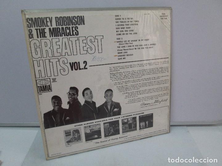 Discos de vinilo: SMOKEY ROBINSON & THE MIRACLES. GREATEST HITS VOL 2. DISCO DE VINILO. TAMLA 1967. VER FOTOGRAFIAS - Foto 7 - 81109972