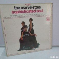Discos de vinilo: THE MARVELETTES. SOPHISTICATED SOUL. DISCO DE VINILO. TAMLA 1968. VER FOTOGRAFIAS ADJUNTAS. Lote 81110436
