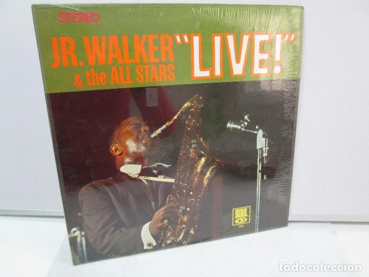 JR. WALKER & THE ALL STARS LIVE!. DISCO DE VINILO. SOUL 1967. VER FOTOGRAFIAS ADJUNTAS (Música - Discos - Singles Vinilo - Funk, Soul y Black Music)