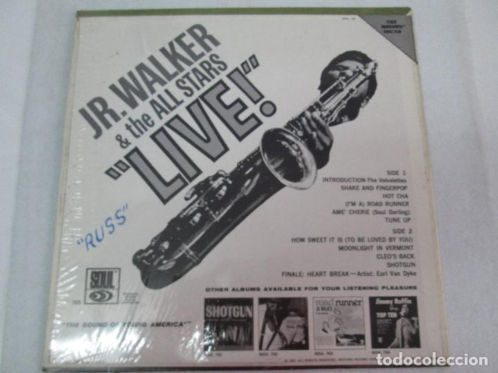 Discos de vinilo: JR. WALKER & THE ALL STARS LIVE!. DISCO DE VINILO. SOUL 1967. VER FOTOGRAFIAS ADJUNTAS - Foto 6 - 81111996