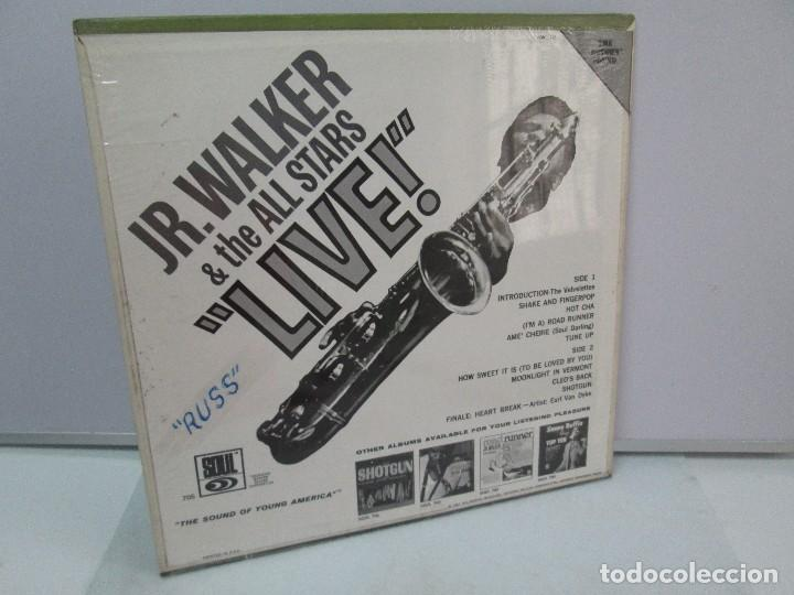 Discos de vinilo: JR. WALKER & THE ALL STARS LIVE!. DISCO DE VINILO. SOUL 1967. VER FOTOGRAFIAS ADJUNTAS - Foto 7 - 81111996