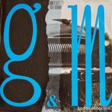 Discos de vinilo: G & M - DON'T LET YOU DOWN - GRIND B-MX-1091 SPAIN. Lote 81115172