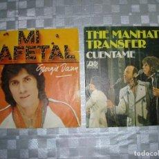 Discos de vinilo: LOTE SINGLES. Lote 81116116