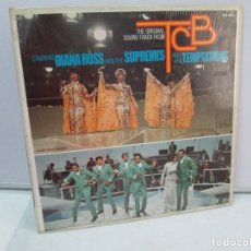 Discos de vinilo: STARRING DIANA ROSS AND THE SUPREMES WITH THE TEMPTATIONS. DISCO DE VINILO. MOTOWN RECORDS 1968.. Lote 81120960