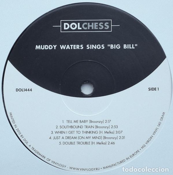 Discos de vinilo: Muddy Waters * LP HQ Virgin Vinyl 140g * Muddy Waters Sings Big Bill * Precintado - Foto 2 - 169679662