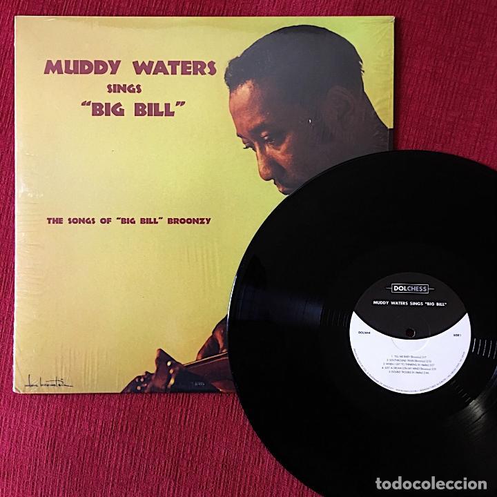 Discos de vinilo: Muddy Waters * LP HQ Virgin Vinyl 140g * Muddy Waters Sings Big Bill * Precintado - Foto 4 - 169679662