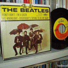Discos de vinilo: THE BEATLES EP FOUR BY FOUR ORIGINAL CAPITOL 1964 RARE USA. Lote 81129536