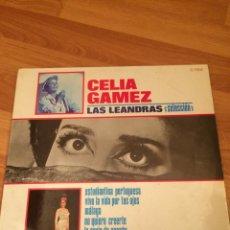 Discos de vinilo: CELIA GAMEZ - LAS LEANDRAS. Lote 81155756