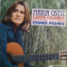 Discos de vinilo: MARÍA OSTIZ. CANTA CIGARRA. FESTIVAL OTI 1976. SINGLE ESPAÑA. Lote 81159852
