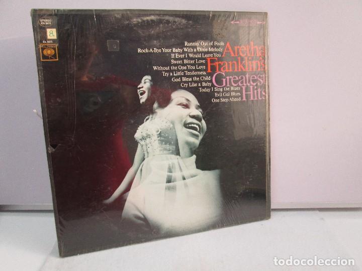 ARETHA FRANKLIN´S. GREATEST HITS. DISCO DE VINILO. COLUMBIA. VER FOTOGRAFIAS ADJUNTAS (Música - Discos - Singles Vinilo - Funk, Soul y Black Music)