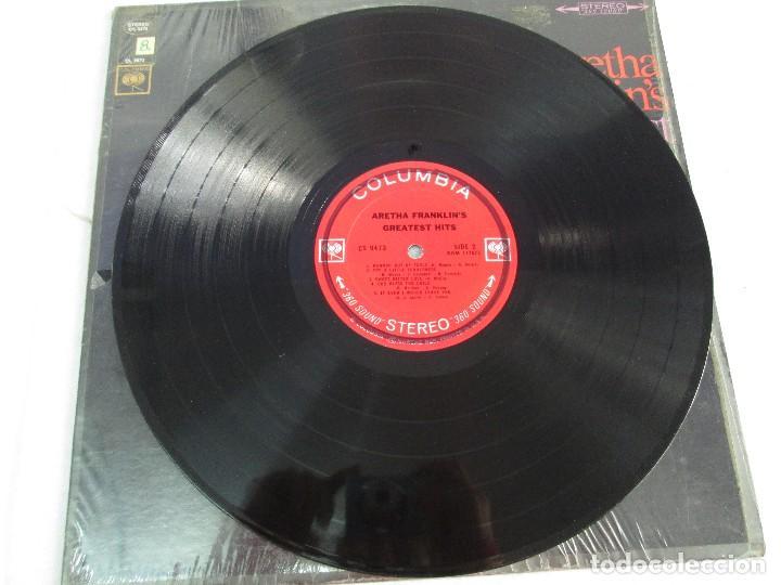 Discos de vinilo: ARETHA FRANKLIN´S. GREATEST HITS. DISCO DE VINILO. COLUMBIA. VER FOTOGRAFIAS ADJUNTAS - Foto 4 - 81188592