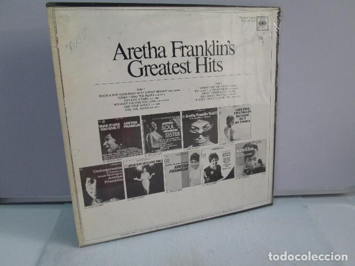 Discos de vinilo: ARETHA FRANKLIN´S. GREATEST HITS. DISCO DE VINILO. COLUMBIA. VER FOTOGRAFIAS ADJUNTAS - Foto 7 - 81188592