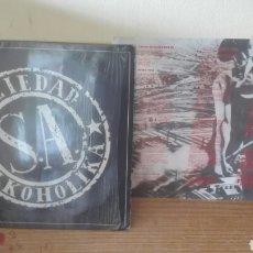 Discos de vinilo: SOZIEDAD ALKOLIKA LP 1991. Lote 90346844