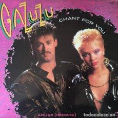 Discos de vinilo: GAZUZU - CHANT FOR YOU / ARUBA (REMAKE) - SPLASH RECORDS - MX-1044 SPAIN. Lote 81194680