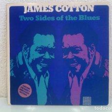 Discos de vinilo: LP VINILO JAMES COTTON - TWO SIDES OF THE BLUES - ORIG. USA PRESS - MUY MUY RARO¡¡¡. Lote 81196676