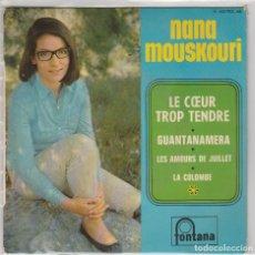 Discos de vinilo - NANA MOUSKOURI / GUANTANAMERA + 3 (EP FRANCES) - 81199892