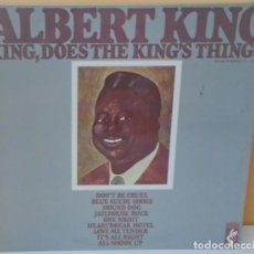 Discos de vinilo: ALBERT KING - KING , DOES THE KING´S THINGS STAX - 1969. Lote 81208496