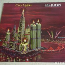 Discos de vinilo: DR. JOHN ( CITY LIGHTS ) 1978 - HOLANDA LP33 A&M RECORDS. Lote 81213192