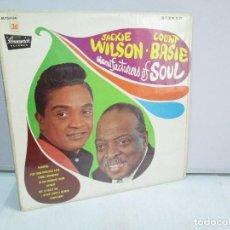 Discos de vinilo: JACKIE WILSON. COUNT BASIE. MANUFACTURERS OF SOUL. DISCO DE VINILO. BRUNSWICK RECORDS 1968.. Lote 81242072