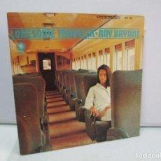 Discos de vinilo: LONESOME TRAVELER. RAY BRYANT. DISCO DE VINILO. CADET RECORDS 1966. VER FOTOGRAFIAS ADJUNTAS. Lote 81243324