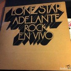 Discos de vinilo: LONE STAR (ADELANTE ROCK EN VIVO) LP ESPAÑA 1973 GAT. (VIN-P). Lote 81243776