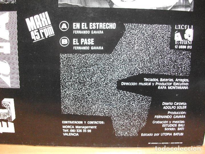 Discos de vinilo: *** EL ALA DELTA ** MAXI 1989 VALENCIA ** MOVIDA MOGUDA PUNK PEPETO - Foto 2 - 81244024