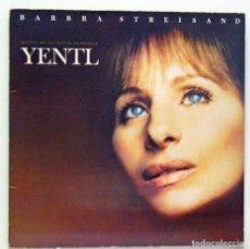 Discos de vinilo: BARBRA STREISAND - 'YENTL' (LP VINILO CARPETA ABIERTA. ENCARTE CON LETRAS. ORIGINAL 1983). Lote 81263380