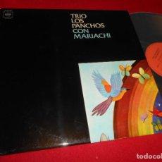 Discos de vinilo: TRIO LOS PANCHOS CON MARIACHI LP 1971 CBS EDICION ESPAÑOLA SPAIN NUEVO. Lote 81271884