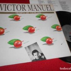 Discos de vinilo: VICTOR MANUEL TIEMPO DE CEREZAS LP 1989 ARIOLA EDICION ESPAÑOLA SPAIN. Lote 138903813