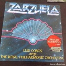 Discos de vinilo: VINILO ZARZUELA. THE ROYAL PHILARMONIC ORCHESTRA. LUIS COBOS. CBS 463460-1. Lote 81279960