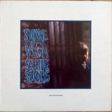 Discos de vinilo: SUZANNE VEGA : SOLITUDE STANDING [ESP 1988]. Lote 81287936
