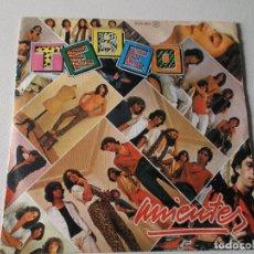 Discos de vinilo: TEBEO MIENTES 1979 ZAFIRO. Lote 81318332