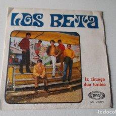 Discos de vinilo: LOS BETA LA CHUNGA DON TORIBIO - SONO PLAY 1968. Lote 81319136